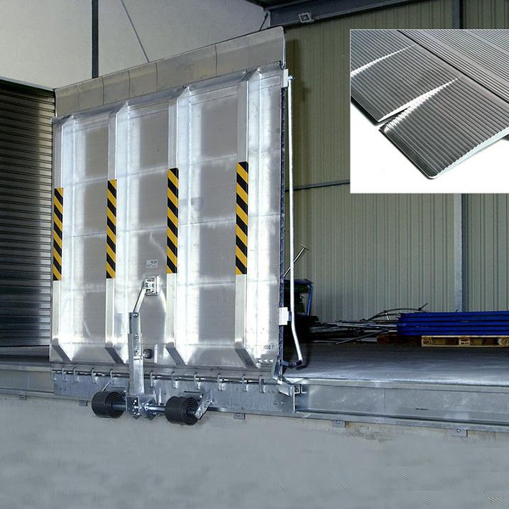 FBA: Robuste Rampenladebrücke aus Aluminium