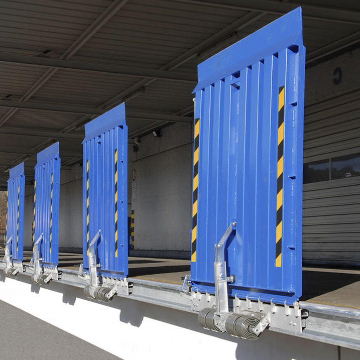 FBS: Robuste Rampenladebrücke aus Stahl